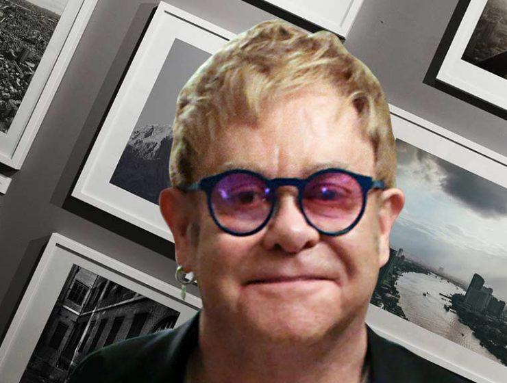"""Elton John, """"La fotografia mi ha salvato da alcol e droga"""""""