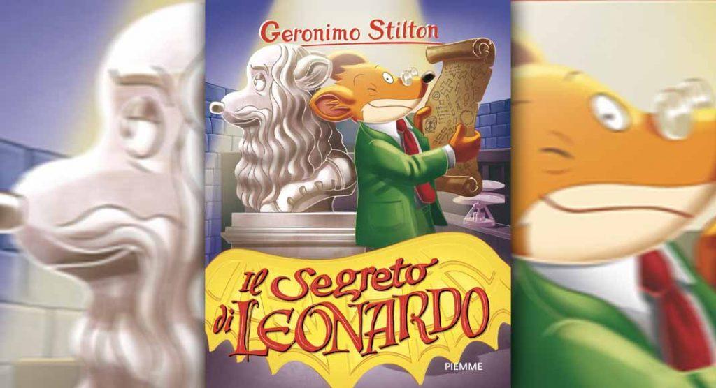 Geronimo Stilton racconta il genio di Leonardo Da Vinci