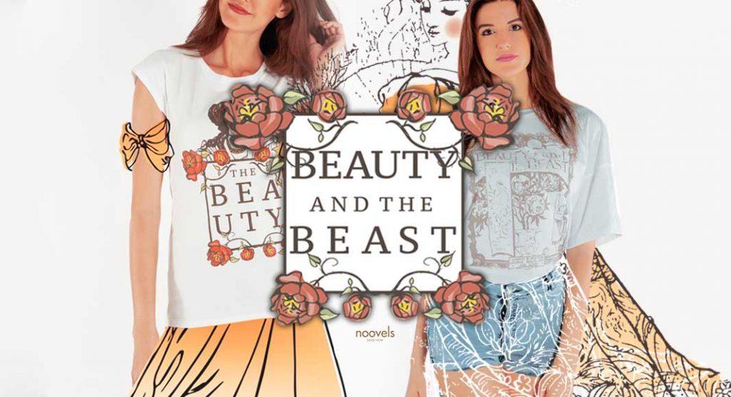 """Grandi classici da indossare: arrivano le t-shirt de """"La Bella e la Bestia"""""""