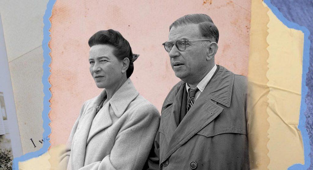 La lettera d'amore di Sartre a Simone De Beauvoir