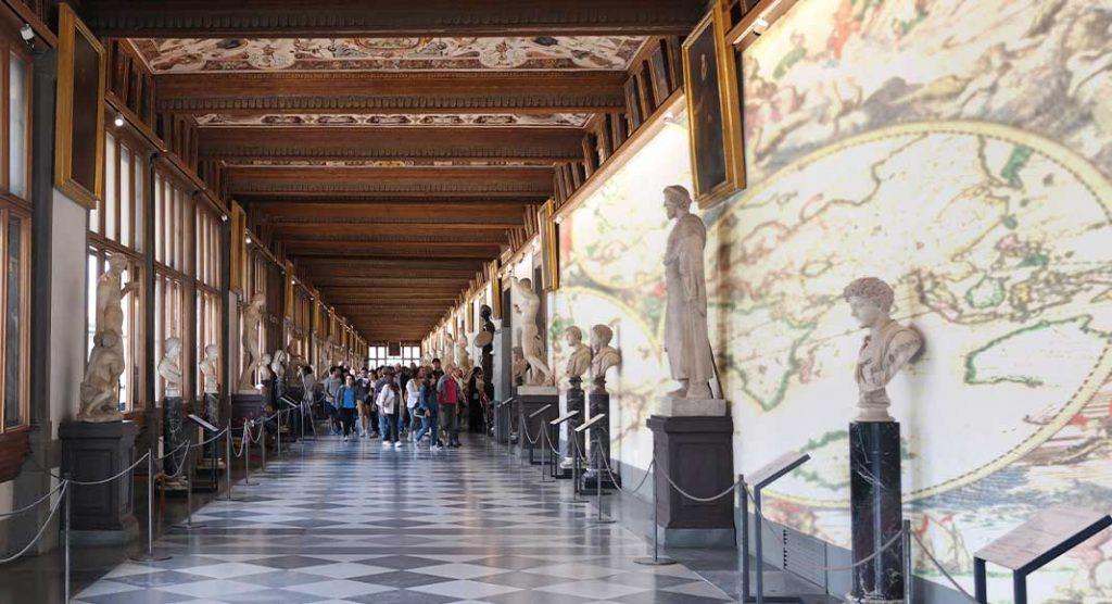 Uffizi riaprono la Sala delle Carte Geografiche chiusa da 20 anni