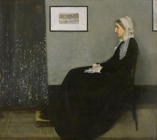 AMES WHISTLER MAMMA WHISTLER 1871