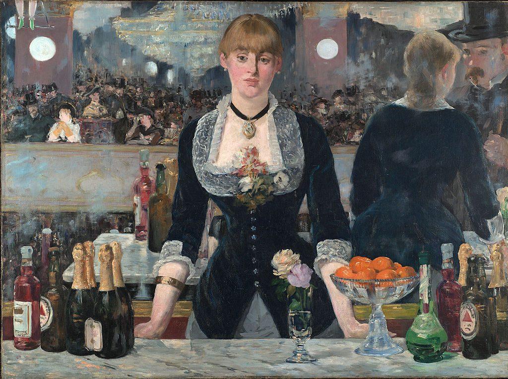 Edouard Manet A Bar at the Folies Bergère
