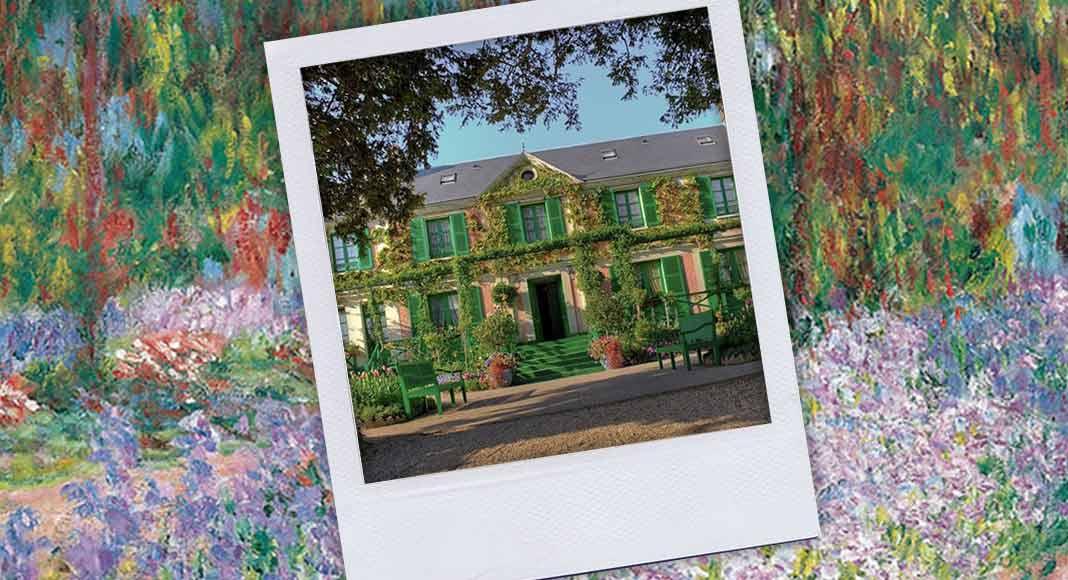 Grazie ad Airb&b si può affittare la casa di Monet