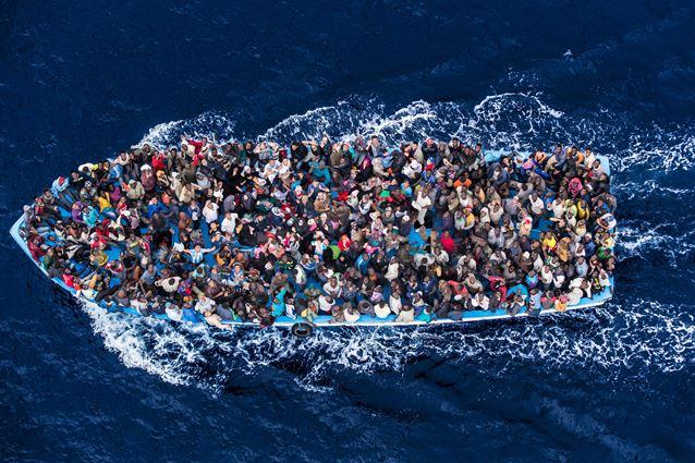 Mar Mediterraneo, 2014 © Massimo Sestini