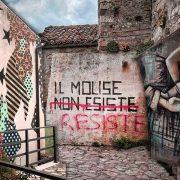 In Molise c'è un borgo che resiste allo spopolamento con la Street Art