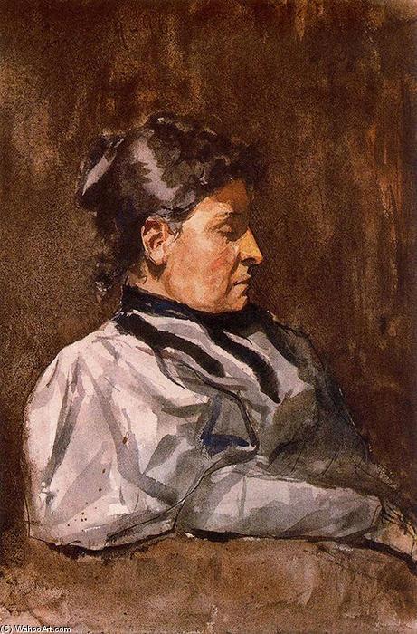 PABLO PICASSO RITRATTO DELLA MADRE DELL'ARTISTA 1896