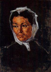 PAUL CÉZANNE MADRE DELL'ARTISTA 1867