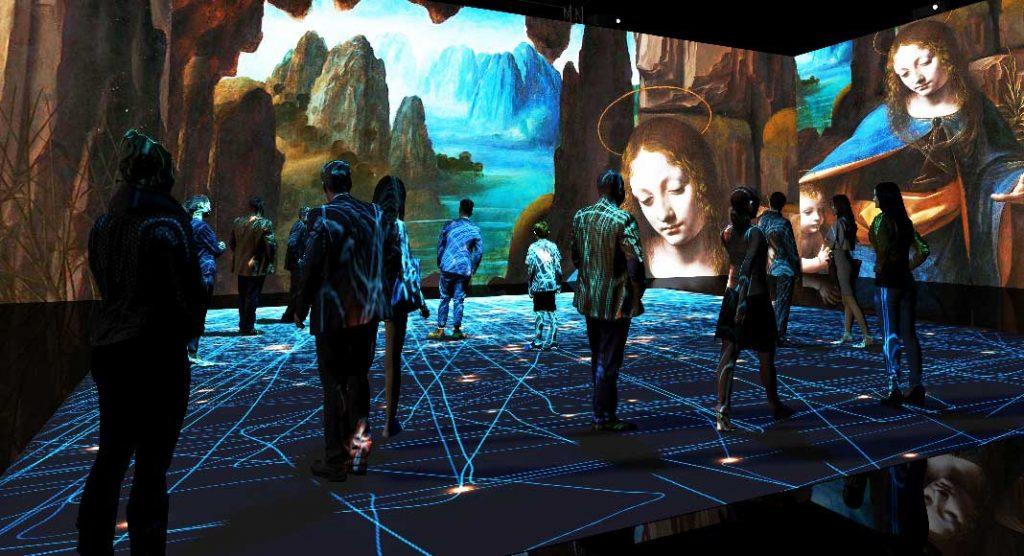 Leonardo da Vinci, la mostra immersiva alla Fabbrica del Vapore a Milano
