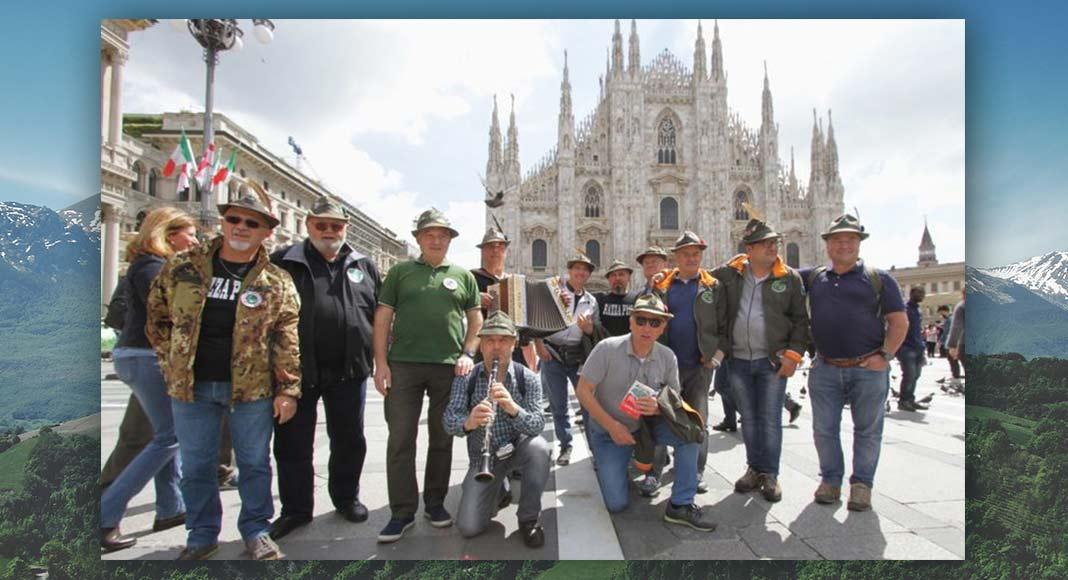 Milano accoglie gli Alpini, 500.000 persone in piazza