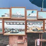 Banksy espone in piazza San Marco ma viene allontanato dalla polizia