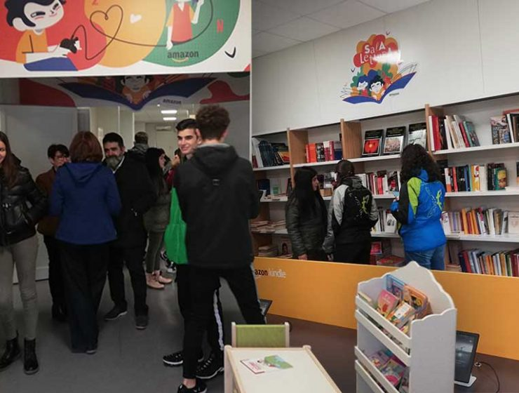 Amazon regala una biblioteca ad Amatrice, ora ha una nuova sede