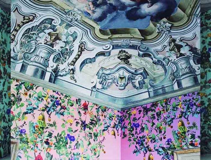 Il bookshop di Palermo che si riempie di fiori, frutti e animali
