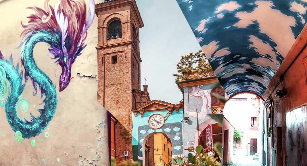 Gita fuori porta a Dozza, la città della street art