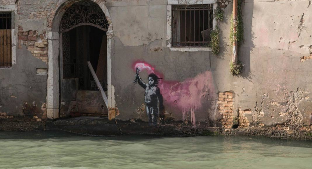 Il graffito di Venezia che (forse) è di Banksy