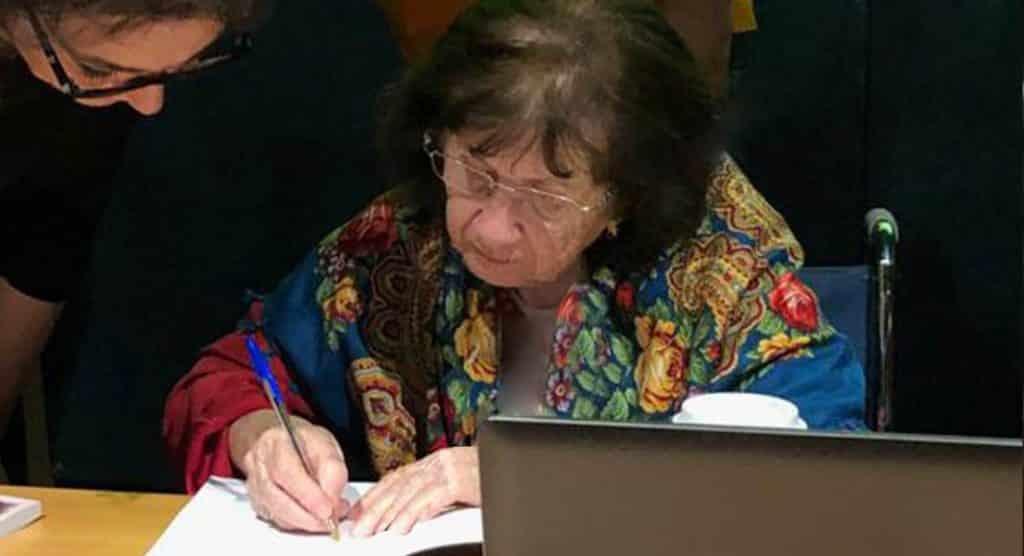"""Halina Birenbaum al Salone del Libro, """"Tutto quell'odio l'ho vissuto sulla mia pelle"""""""