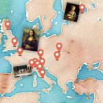 La mappa interattiva con tutte le opere di Leonardo