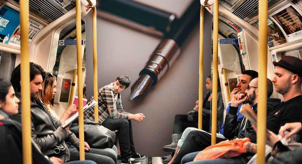 Metro Poetry, a Torino la poesia arriva in metropolitana