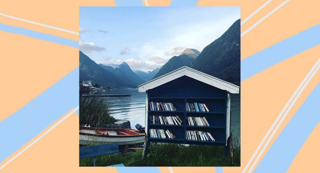 C'è una città in Norvegia dove ci sono più libri che persone