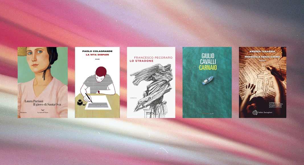 I 5 finalisti del Premio Campiello