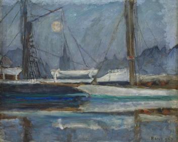03 BONNARD Le bassin des Yachts à Deauville v. 1910