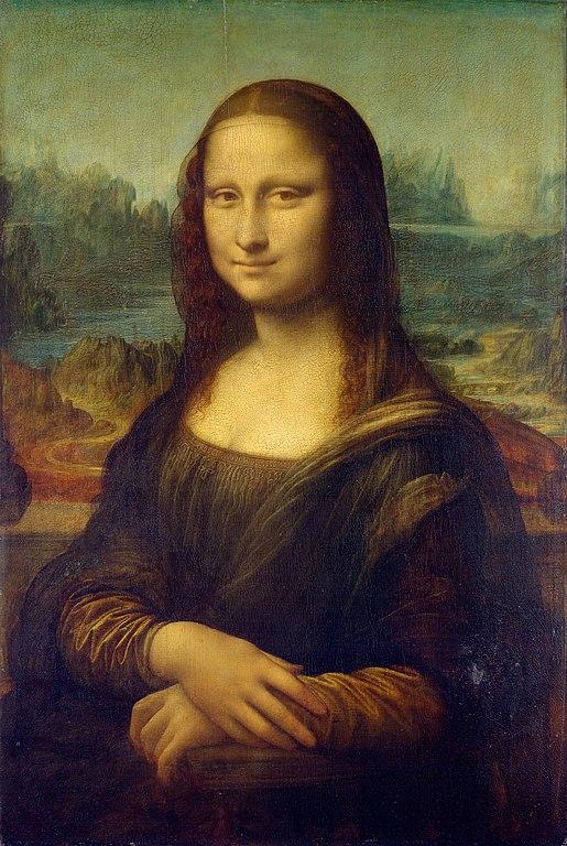 515px Mona Lisa by Leonardo da Vinci from C2RMF retouched