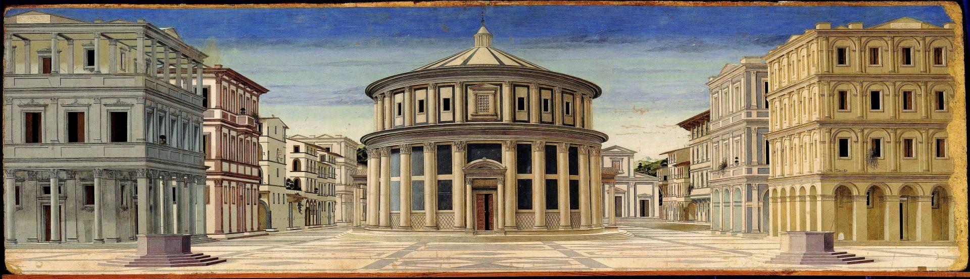 Formerly Piero della Francesca Ideal City Galleria Nazionale delle Marche Urbino