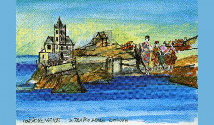 Lele Luzzati in mostra a Genova, dagli esordi nel teatro alla nomination agli Oscar