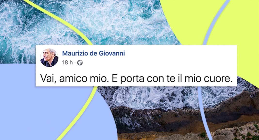 Maurizio de Giovanni dice addio al Commissario Ricciardi