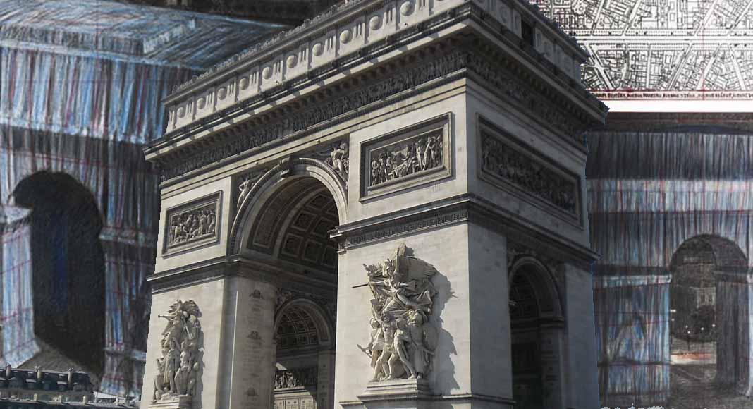 Christo impacchetterà l'Arco di Trionfo di Parigi
