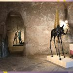 Matera, tra i Sassi le sculture di Salvador Dalí