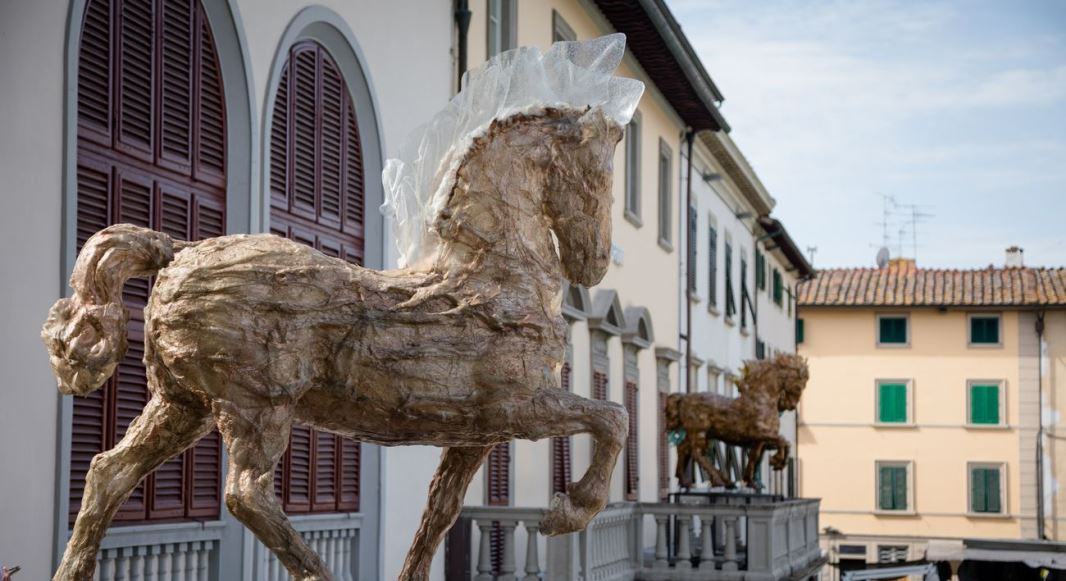 L'arte di Davide Dall'Osso, in Toscana una nuova mostra ecosostenibile