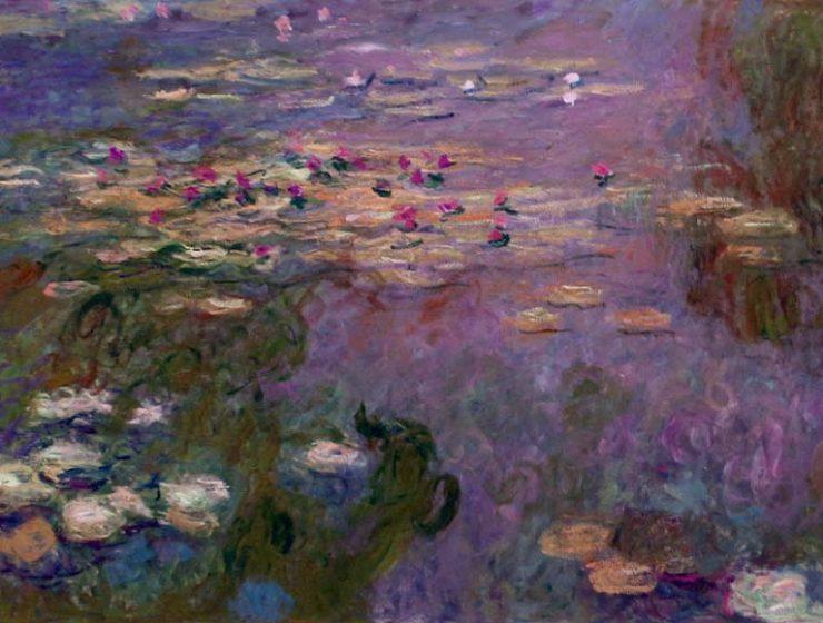 Scoperte nuove Ninfee di Monet sotto un dipinto di glicini