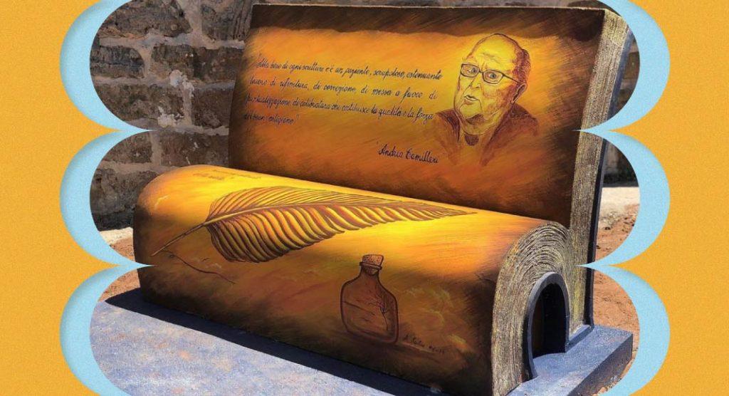A Palermo arrivano le panchine letterarie, una è in omaggio a Camilleri