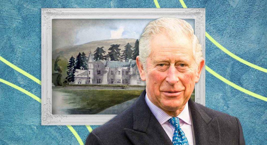 Il principe Carlo d'Inghilterra si dedica alla pittura e devolve tutto in beneficenza