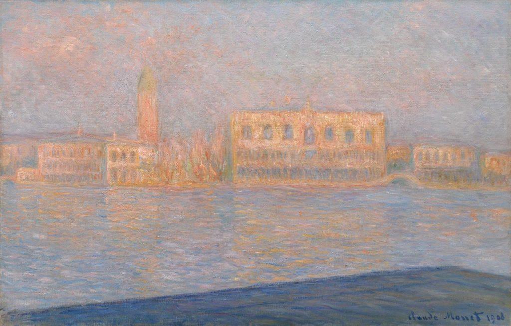 7. Monet Il Palazzo Ducale visto da S. Giorgio Maggiore