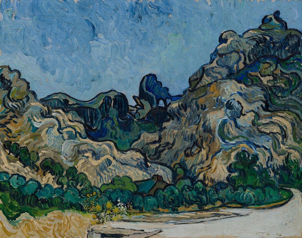 9. Van Gogh Montagne a Saint Remy