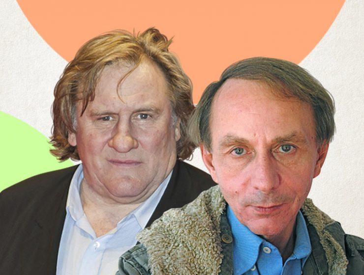 Houellebecq e Depardieu insieme nel film Thalasso