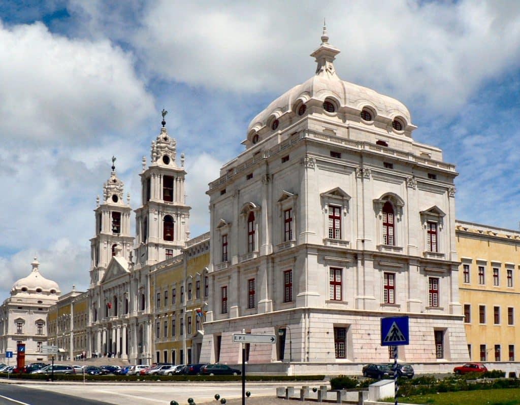 Palácio Nacional de Mafra portogallo