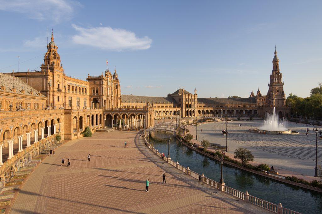 Plaza de España Sevilla 01