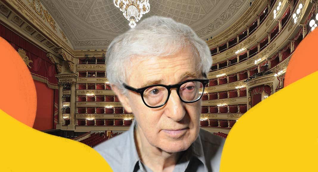 Woody Allen al Teatro de La Scala di Milano