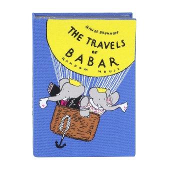 babar book clutch
