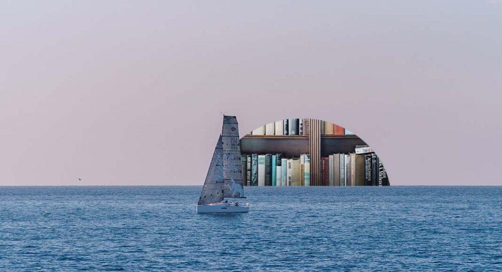 La barca confiscata alla mafia diventa una biblioteca galleggiante