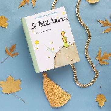 book clutch borsa libro piccolo principe