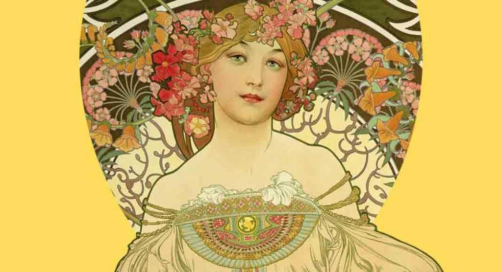 uno dei principali artisti dell'Art Nouveau o dello stile Liberty