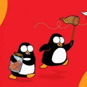 pinguini gus e waldo