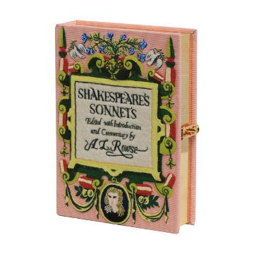 shakespeare book clutch