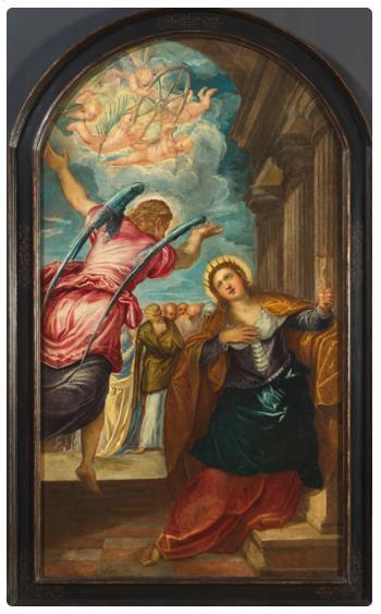 tintoretto annunciazione del martirio santa caterina