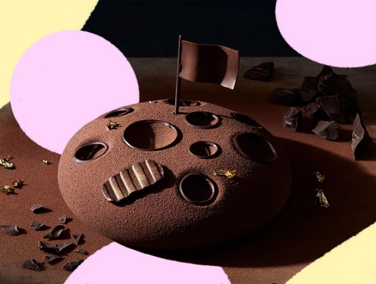 Un dolce al cioccolato per celebrare lo sbarco sulla Luna