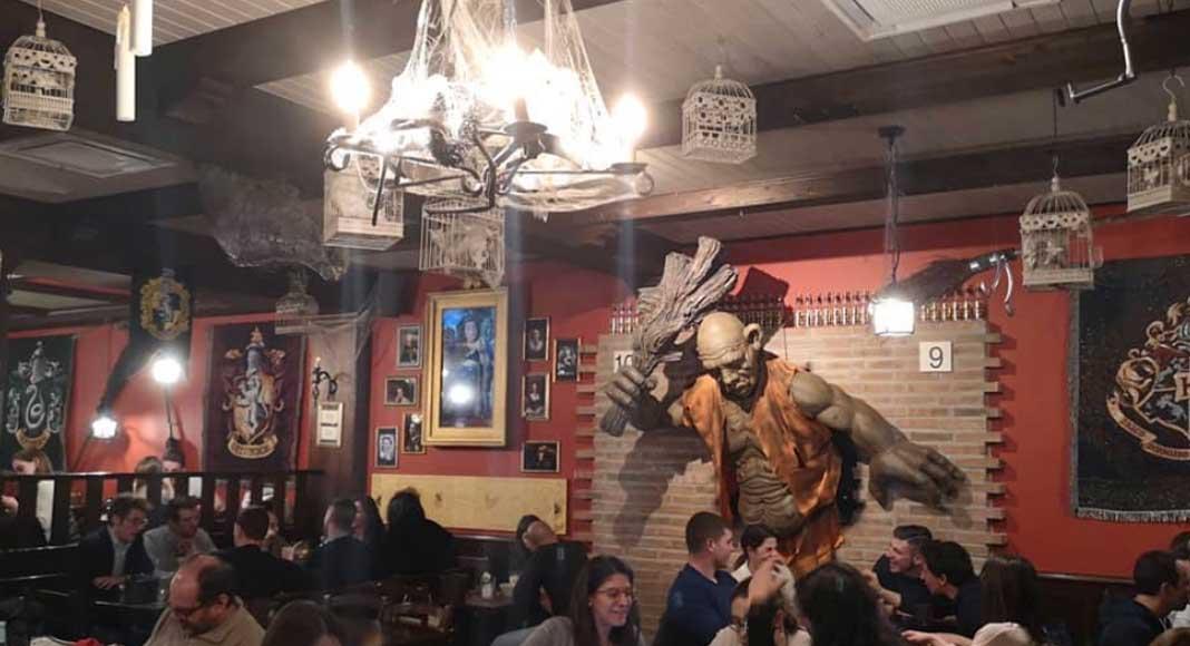 Binario Magic Pub, un locale a tema Harry Potter a Bergamo